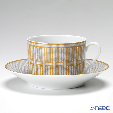 Hermes Mosaique au 24 Breakfast cup and saucer, 34 cl
