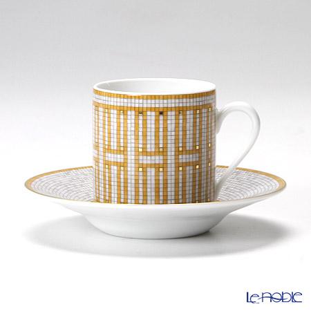 エルメス(HERMES) モザイク ヴァンキャトル コーヒーカップ&ソーサー 100ml
