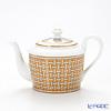Hermes 'Mosaique au 24' Gold 026018P Coffee / Tea Pot 850ml