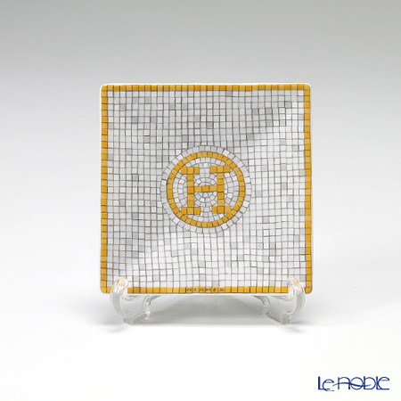 エルメス(HERMES) モザイク ヴァンキャトルプチカレ(プレート) 7×7cm No.1