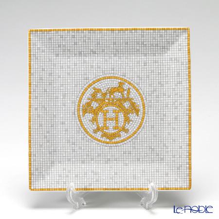 エルメス(HERMES) モザイク ヴァンキャトルプチカレ(プレート) 15×15cm No.3