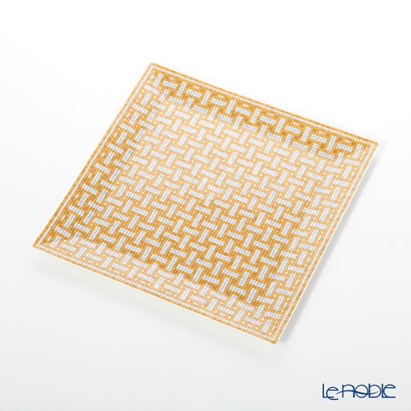 エルメス(HERMES) モザイク ヴァンキャトル プチカレ(プレート) 19×19cm No.4