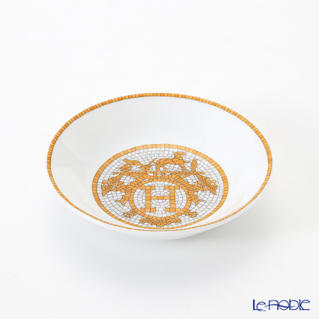 エルメス(HERMES) モザイク ヴァンキャトル コレクション アジアティック 醤油皿 10cm