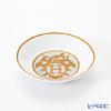 エルメス(HERMES) モザイク ヴァンキャトル コレクション アジアティック醤油皿 10cm