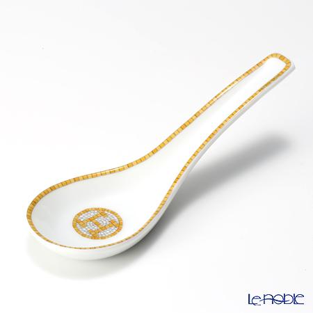 エルメス(HERMES) モザイク ヴァンキャトル コレクション アジアティック スープスプーン 14cm