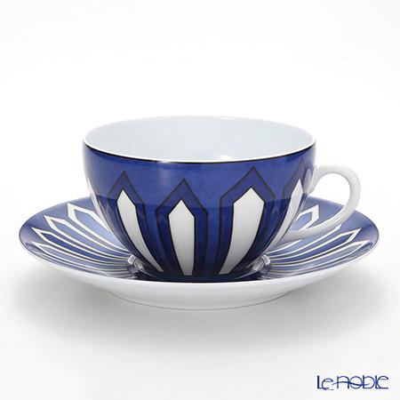 online store 57e86 9eae1 エルメス(HERMES) ブルー ダイユール モーニングカップ&ソーサー 370ml