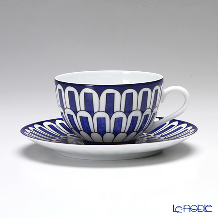 エルメス(HERMES) ブルー ダイユール ティーカップ&ソーサー 200ml