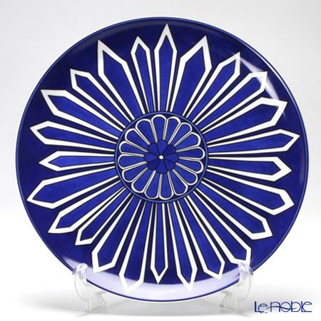エルメス(HERMES) ブルー ダイユール タルト皿 32cm