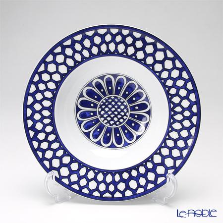 エルメス(HERMES) ブルー ダイユール スーププレート 21cm