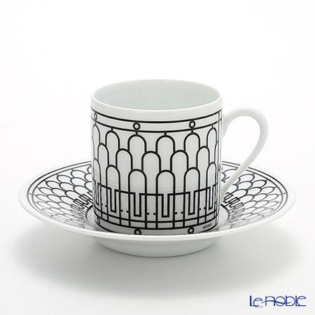 エルメス(HERMES) H Deco アッシュデコ コーヒーカップ&ソーサー 90ml