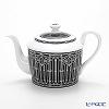 Hermes 'H Deco' Black 037018P Tea Pot 850ml (for 6 cups)