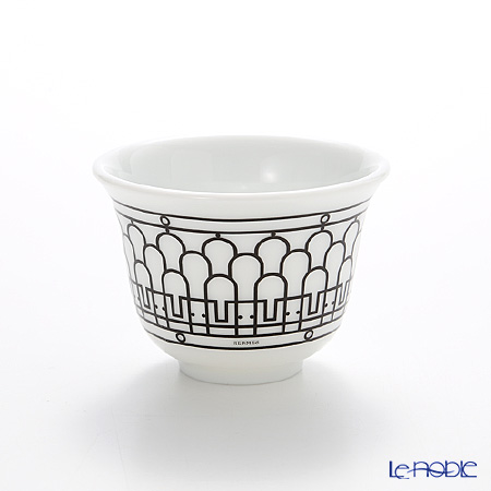 エルメス(HERMES) H Deco アッシュデコスモールカップ 62ml No.1