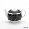 Hermes 'H Deco' Black 037035P Tea Pot 550ml (for 2 cups)
