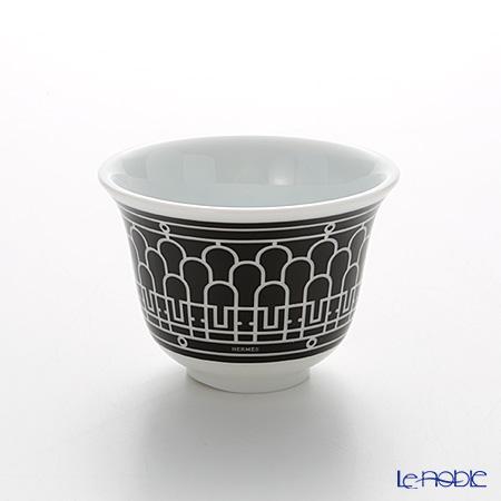 エルメス(HERMES) H Deco アッシュデコスモールカップ 62ml No.2 ブラック