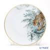 Hermes Carnets d'Equateur Dinner plate, Jaguar motif, 27 cm