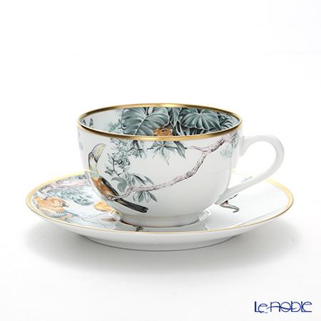 エルメス(HERMES) 赤道直下のスケッチ ティーカップ&ソーサー 200ml