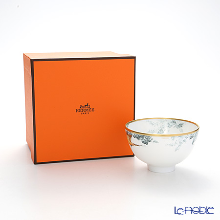 Hermes 'Carnets d'Equateur' (Animal / Bird) Bowl (S) 210ml