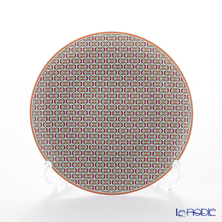 Hermes Tie-Set Mandarin Bread and Butter Plate, Φ14 cm