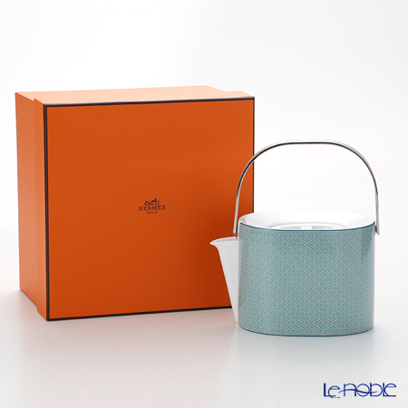Hermes Tie-Set Teapot, H11.5 cm / 1000 ml