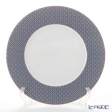 Hermes Tie-Set Garnet Dinner Plate, Φ29.5 cm