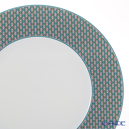 Hermes Tie-Set Mint Dinner Plate 29.5cm
