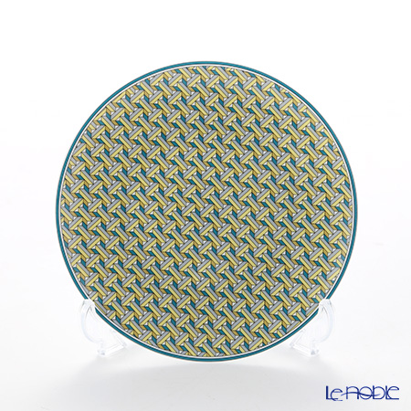 Hermes Tie-Set Mint Bread & Butter Plate 14cm