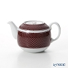 Hermes 'H Deco' Rouge Red Coffee / Tea Pot (for 2 cups) 550ml