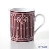 Hermes H Deco rouge Mug No.2, 30 cl
