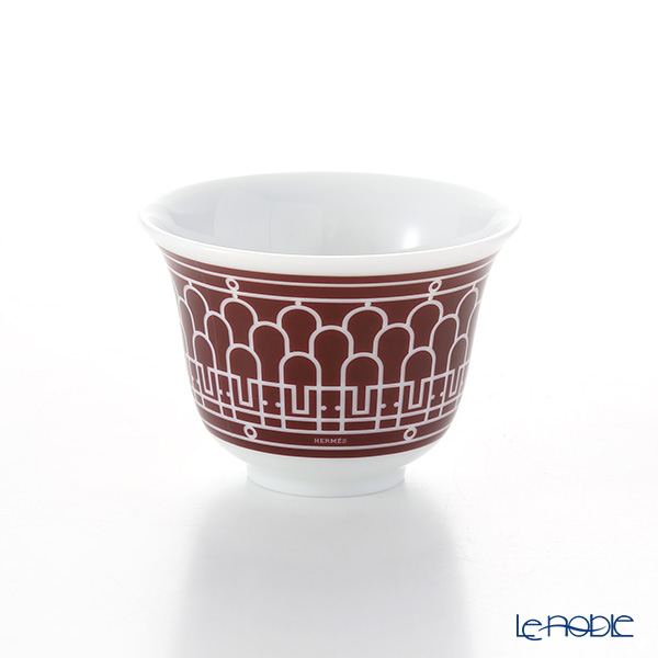Hermes 'H Deco' Rouge Red [No.2] Mini Cup 62ml