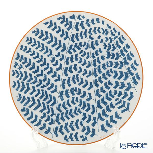 エルメス(HERMES) ウォーク・イン・ザ・ガーデン ディナープレート 27cm ブルー