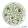 Hermes 'A Walk in the Garden' Green 043107P Dessert Plate 21cm