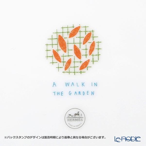 Hermes 'A Walk in the Garden' Orange 043131P Mug