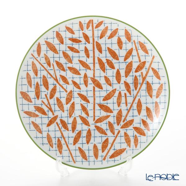 エルメス(HERMES) ウォーク・イン・ザ・ガーデンデザートプレート 21cm オレンジ