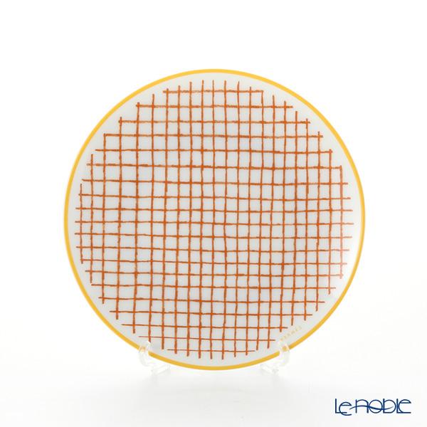 Hermes 'A Walk in the Garden' Orange 043212P Bread & Butter Plate 14cm