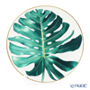 Hermes 'Passifolia - Philodendron' 044001P Dinner Plate 27.5cm
