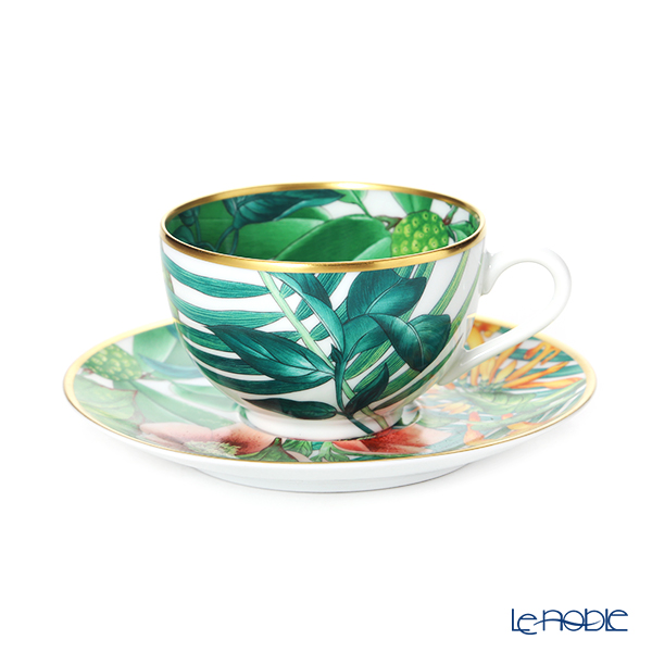 エルメス(HERMES)パシフォリア ティーカップ&ソーサー 200ml 044016P