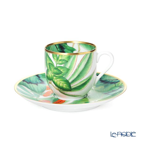 エルメス(HERMES)パシフォリア コーヒーカップ&ソーサー 100ml 044017P デミタス/エスプレッソ用