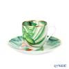 Hermes 'Passifolia' 044017P Demitas / Espresso Coffee Cup & Saucer 100ml