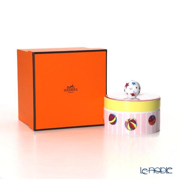 Hermes 'Circus NEW' Pink 045005P Round Box 10cm
