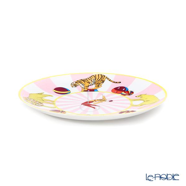 エルメス(HERMES) サーカス NEWデザートプレート(ピンク)21.5cm 045007P