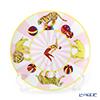 Hermes 'Circus NEW' Pink 045007P Dessert Plate (Animal) 21.5cm