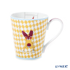 Hermes 'Circus NEW' Yellow 045131P Mug 250ml