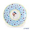 Hermes 'Circus NEW' Blue [No.1] 045207P Dessert Plate (Star) 21.5cm
