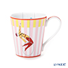Hermes 'Circus NEW' Pink 045231P Mug 250ml