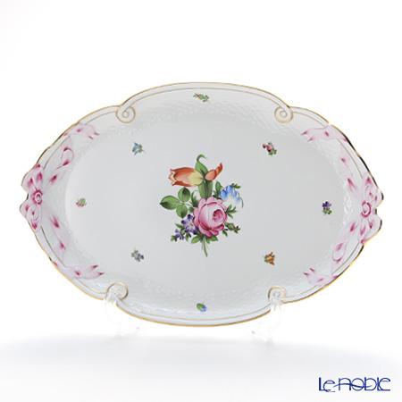 ヘレンド チューリップの花束 BT-2 00400-0-00/400 パーティートレイ 38cm