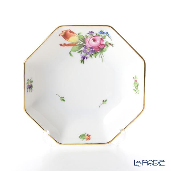 ヘレンド チューリップの花束 BT-2 04307-1-00 小皿(オクタゴナル) 11cm