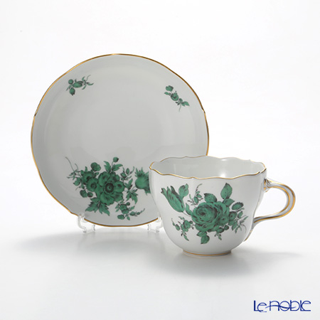 マイセン(Meissen) フラワーブーケ(グリーン) 100810/00582コーヒーカップ&ソーサー