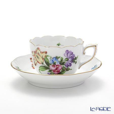 ヘレンド チューリップの花束 BT-6 00711-0-00/711モカカップ&ソーサー 100cc
