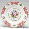 Royal Albert 'Lady Carlyle' Pink Dinner Plate 27cm