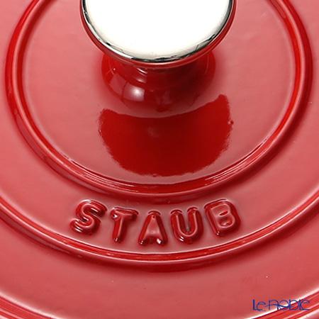 ストウブ(staub) ピコ・ココット ラウンド18cm/1.7L チェリーレッド